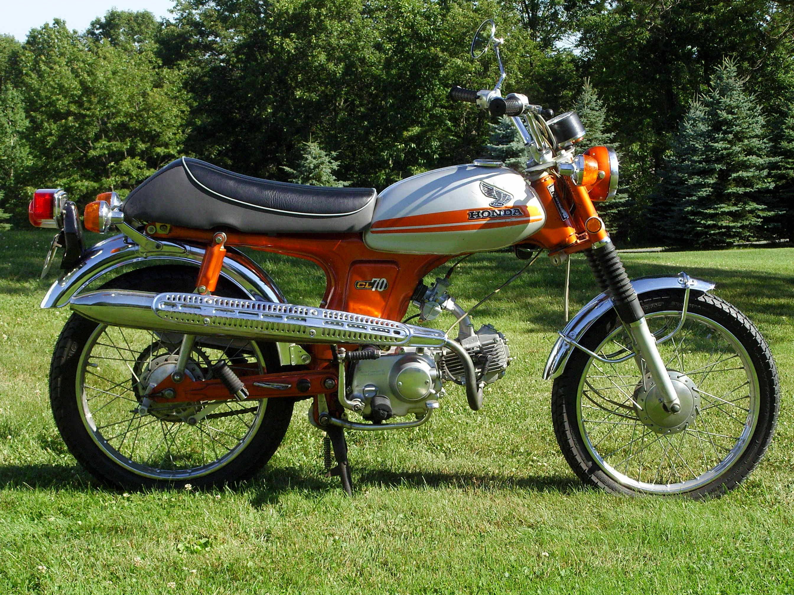 Motoenzo Providers Of Quality Honda Minitrail Restorations Ct70 1970 Trail 70 Parts Enzo